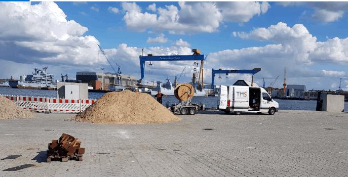 16 Megawatt – Landstromanlage im Seehafen Kiel