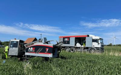 Windpark Dagebüll Teil 3 – Kabelbauarbeiten